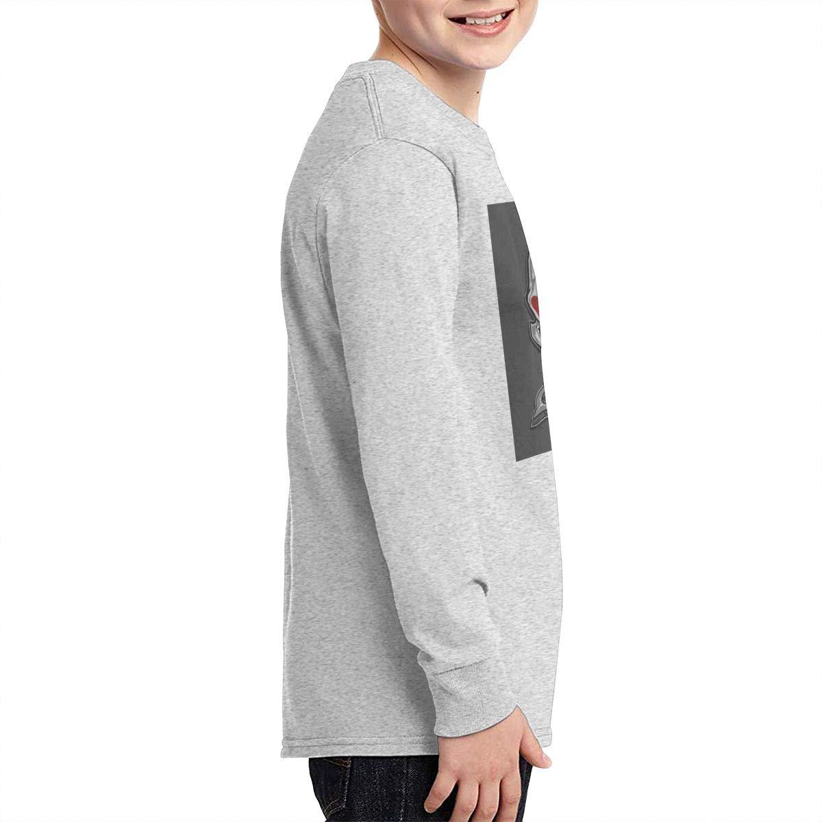 Jmgbsd Boys Five Finger Death Punch Outdoor Round Neck T-Shirt Black