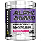 Cellucor Alpha Amino EAA & BCAA Recovery Powder, Essential & Branched Chain Amino Acids Supplement, Watermelon, 50 Servings For Sale