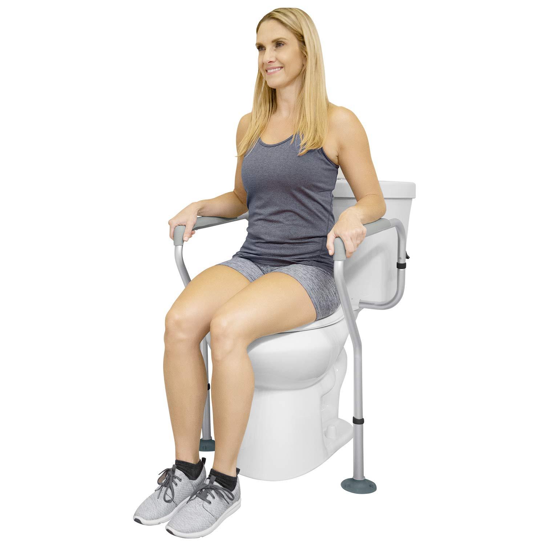 Vive Toilet Rail - Bathroom Safety Frame