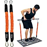 Resistance Bands Portable Home Gym Accessories Full Body Stretch Exercise Tubular Bands to Build Muscle Burn Fat Protective N
