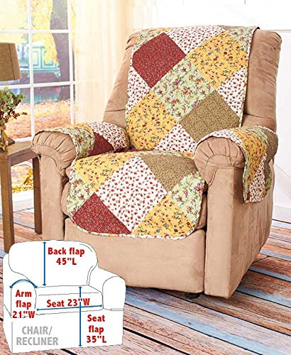 Quilted Chair/Recliner Cover Generic