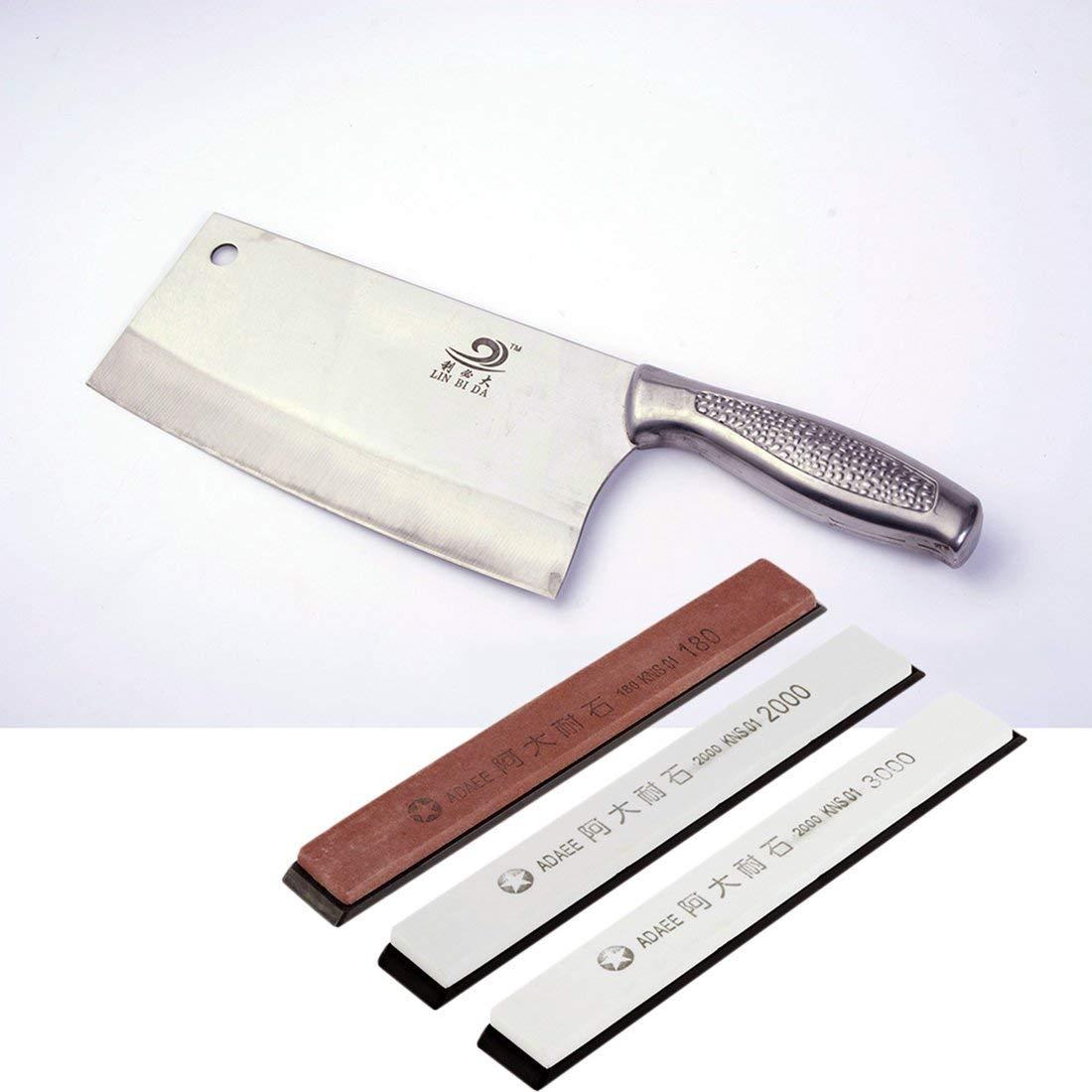 Promoci/ón Sale1pcs Piedras Afiladoras Profesionales Cocina Comedor Afilador de cuchillos Abrader Resistencia abrasiva fuerte