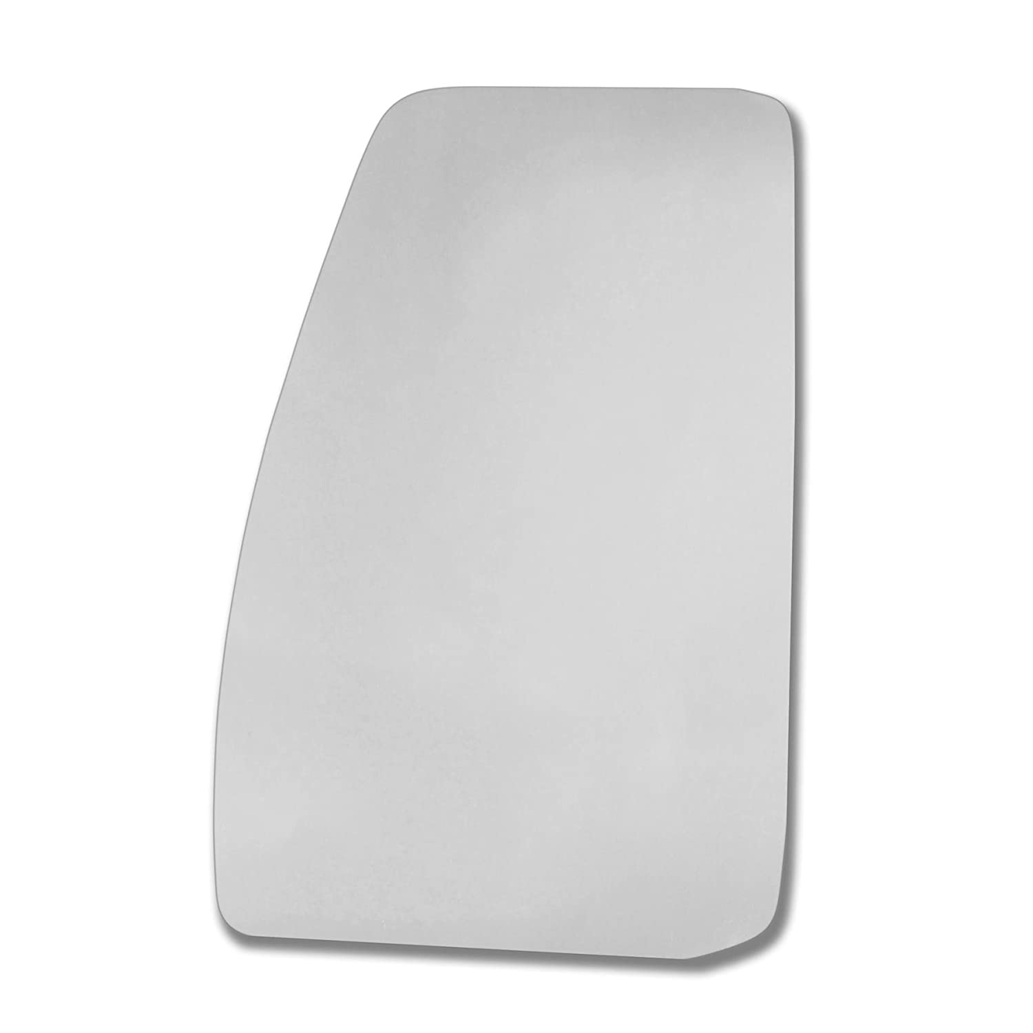 FoTra. Left side wing mirror glass. Real glass, door stick on mirror replacement Passenger side quick fix silver #FoTr-12/15-L_c Sylgab