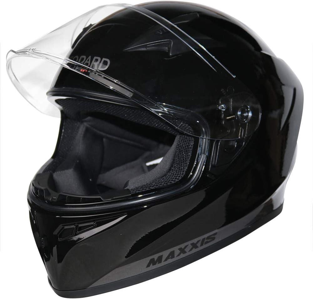 - Motorbike Helmet ECE 2205 /& DOT Approved 55-56cm Leopard LEO-813 Full Face Motorcycle Helmet Red//Black//Silver S