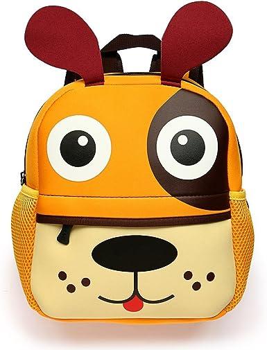 Kids Backpack Cute Dog Animal Cartoon Toddler Children Gift Travel Schoolbag Rucksack