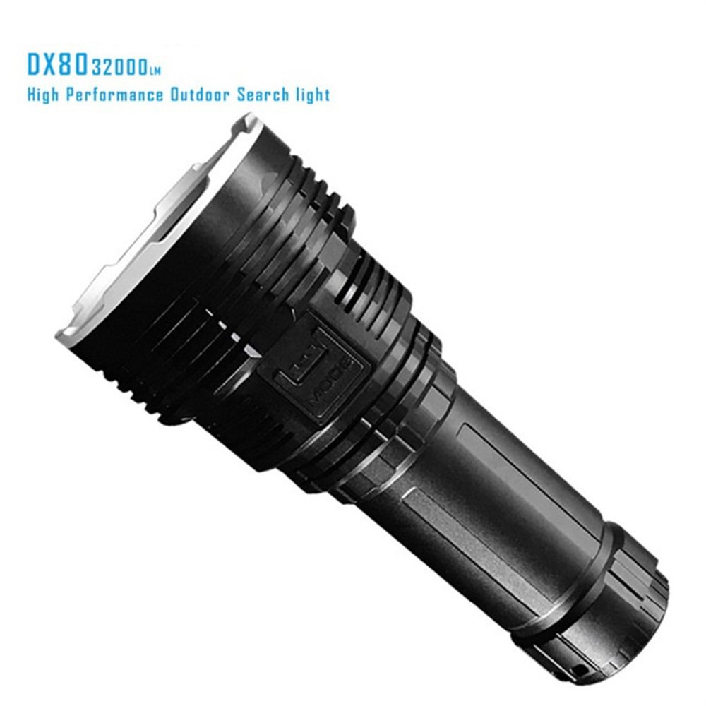 IMALENT DX80 Cree XHP70 LED Flashlight 32000 Lumens 806 Meters USB Charging Interface Torch Flashlight By DHL