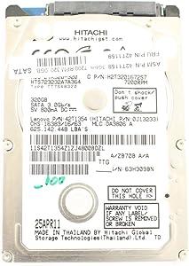 "Lenovo 42T1354 HTS723232A7A364 2.5"" SATA Thin 320GB 7200 Hitachi Laptop Hard Drive Latitude E6230"