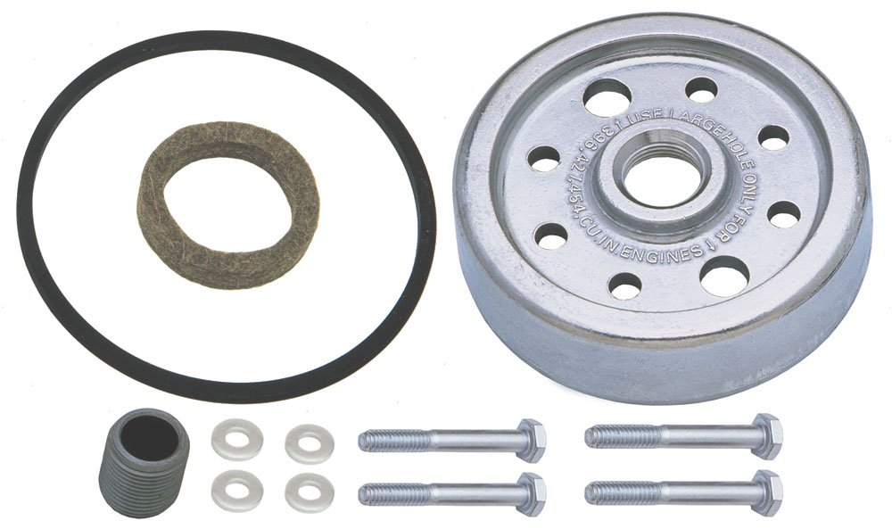 Derale 15761 Canister to Spin-On Oil Filter Adapter by Derale