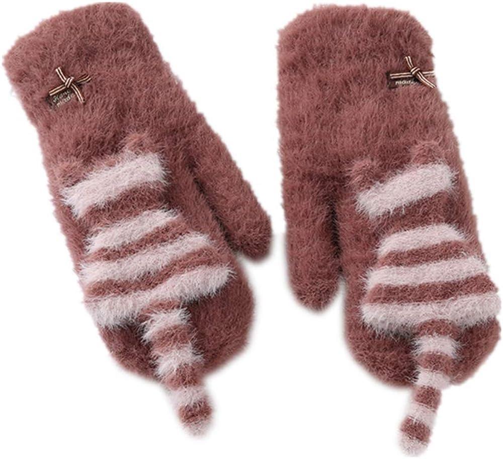 Cute Cat Warm Mittens...