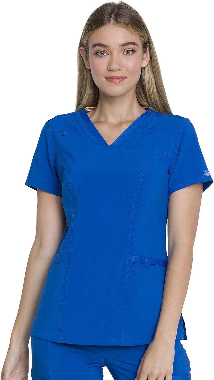 Dickies EDS Essentials DK735 - Camiseta con cuello en V para mujer