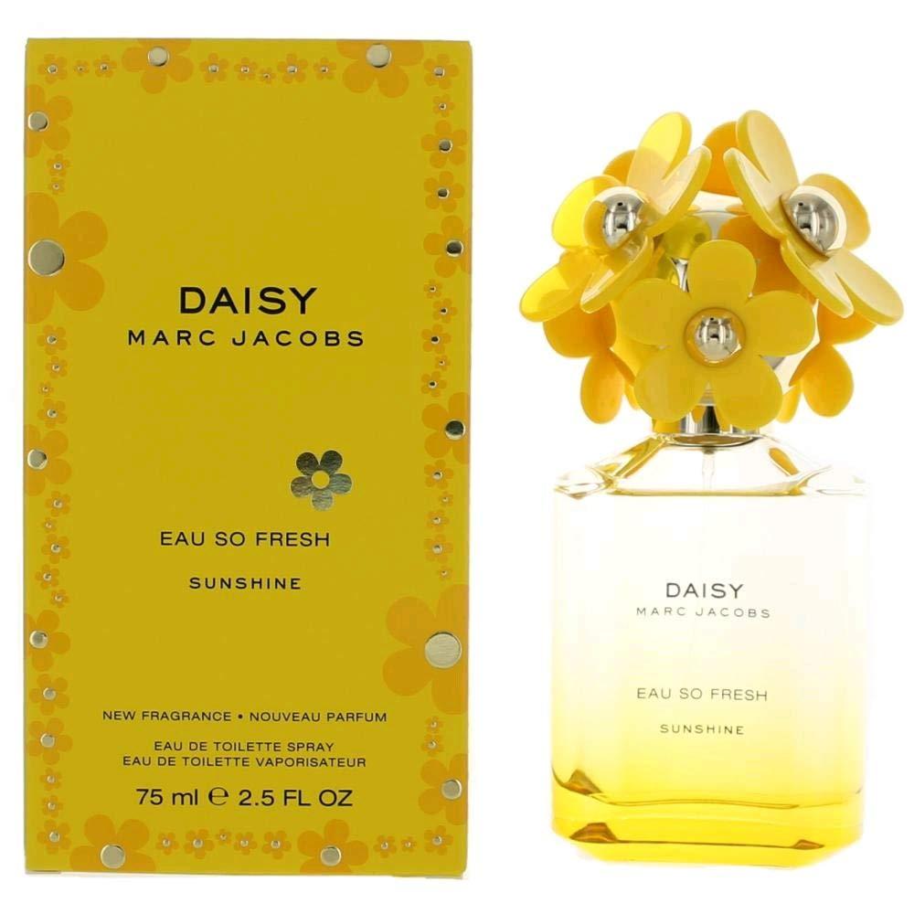 2f51761ae759 Amazon.com : Marc Jacobs Daisy Eau So Fresh Sunshine Eau de Toilette Spray  for Women, 2.5 Ounce : Beauty