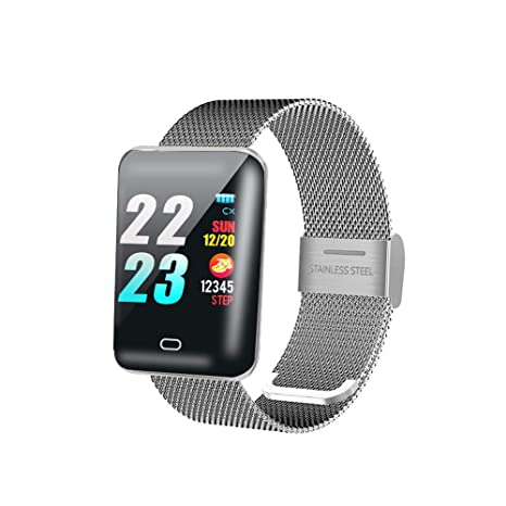 Amazon.com: Reloj inteligente de presión arterial Smartwatch ...