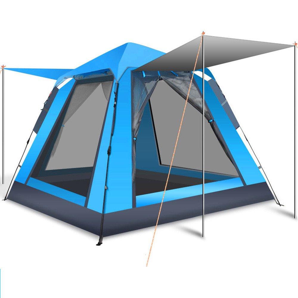 QAR 3-4 Personen automatische Zelt Geschwindigkeit öffnen Outdoor-Camping-Zelt Outdoor-Zubehör wild Camping Ausrüstung Zelt