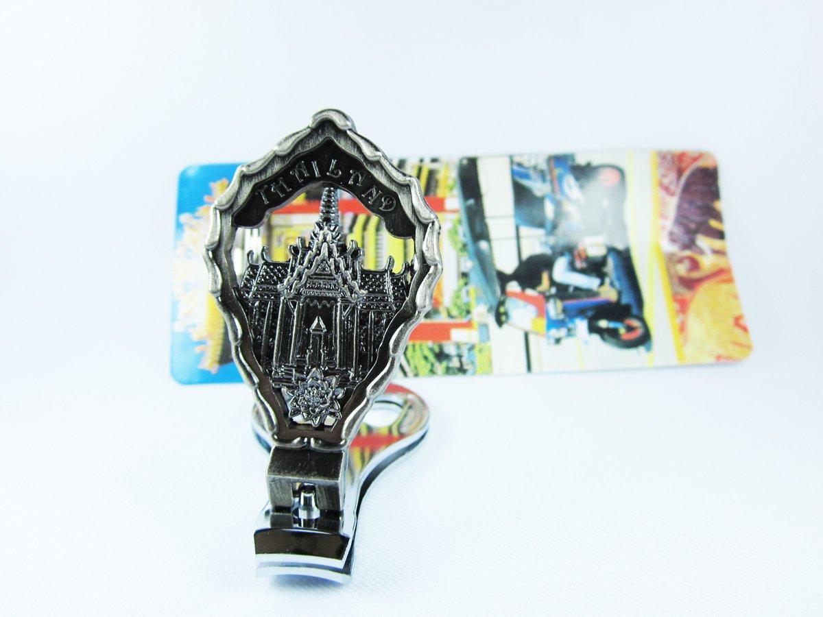 Amazon.com: Thai Souvenir 3 en 1 Cortauñas, llavero y ...