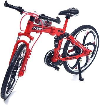 TONGXU 1:10 Mini Modelo de Bicicleta de Montaña Decoración de ...