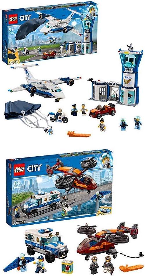 LEGO City Police Base de Operaciones + Policía Robo del ...