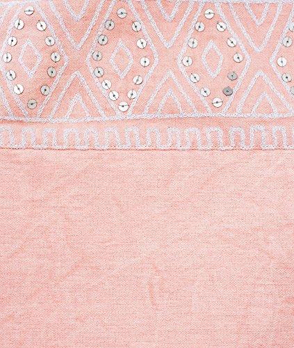 blush Foldover clutch, effetto delavé, borsa, argento paillettes damigella d' onore, azteco, Boemia, dimensioni 20,3x 25,4cm