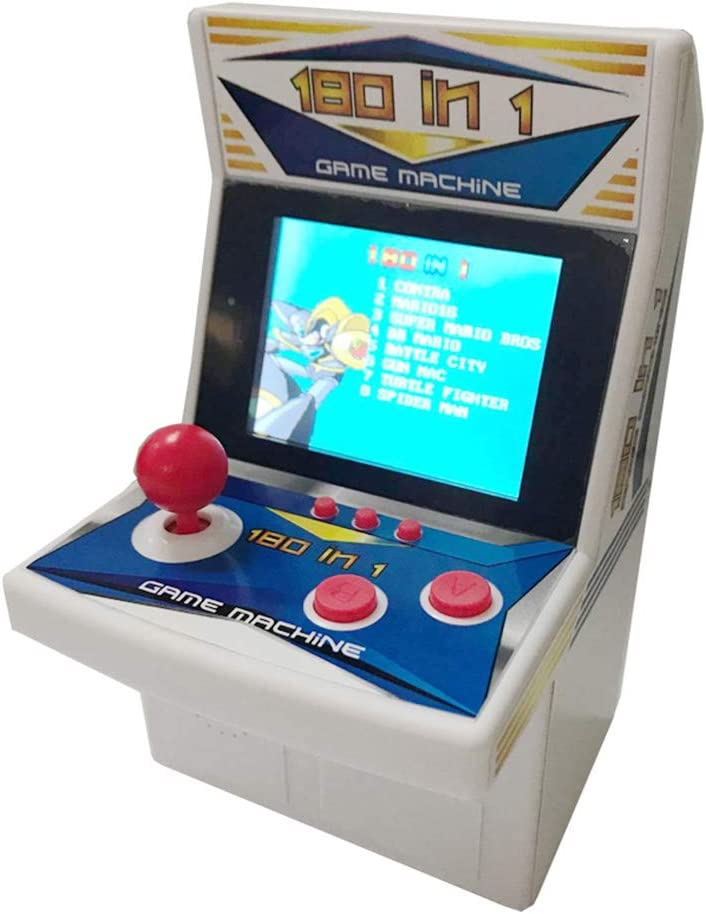 MEIYIN 180 in 1 Rertro Mini Arcade Game Console Handheld Game Machine for Gaming Lovers