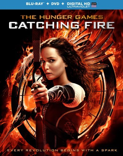 The Hunger Games: Catching Fire [Blu-ray + DVD + Digital HD] -