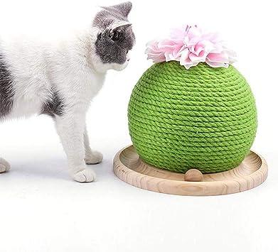 Arbre à chat Cactus Griffoirs pour Chats, Jouet Intertif
