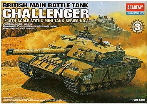 Tank Main Battle British (1/48 British Main Battle Tank Challenger / Academy Model Kit / #13007 /ITEM#G839GJ UY-W8EHF3124165)