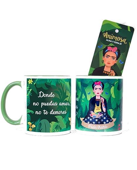 Taza Frida Donde no Puedas amar.: Amazon.es: Hogar