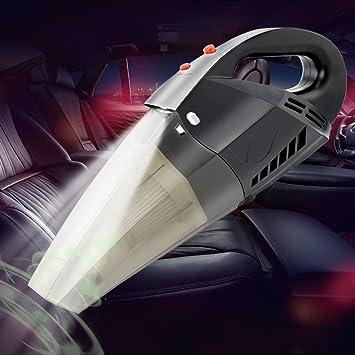 COFIT Aspirador Auto del Coche de, Aspirador Auto Portátil del Cordón de Poder del Portable 4.5m/177.17in con DC12V 120W Succión Fuerte y Luz Llevada para el Uso Mojado y Seco: Amazon.es: Electrónica