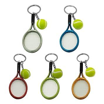 sphtoeo creativo aleación deporte estilo pelota de tenis ...