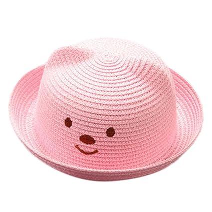 Sombreros y gorras Bebé, ❤️Amlaiworld Niños Bebé Niño Niña Sombrero de Paja Playa Sombrero