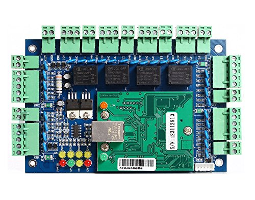(Professional 4 Doors TCP/IP Network Wiegand 26/34 bit Access Control Board Panel Access Controller)
