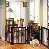 30'' Configurable Folding 3 Panel Wood Dog Fence