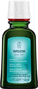 Weleda Rosemary Conditioning Hair Oil, 1.7 Fl Oz (Pack of 1)