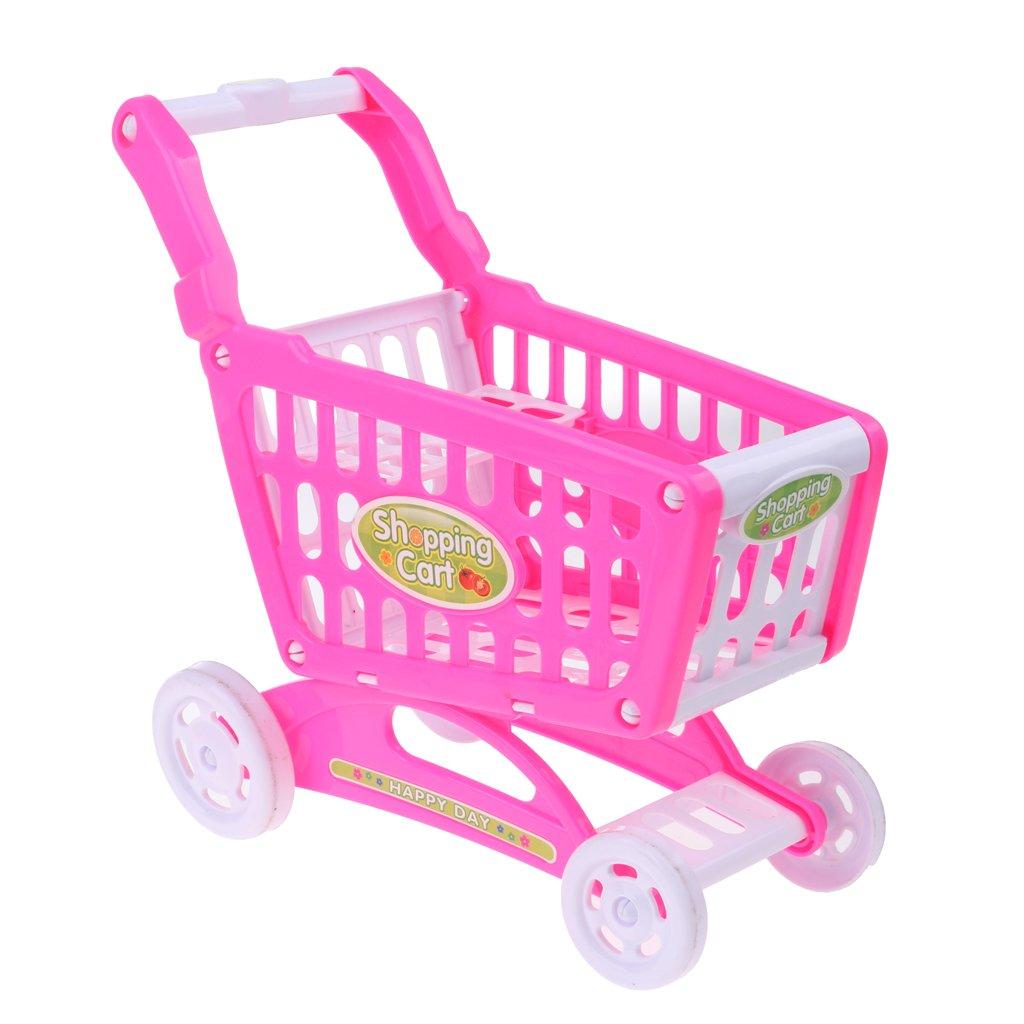 Amazon.es: D DOLITY Muñeca Fashion Carro de Supermercado de Plástico para 18 Pulgadas: Juguetes y juegos
