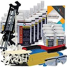 Concrete Foundation Crack Repair Kit - Low Viscosity Polyurethane - FLEXKIT-1050-60
