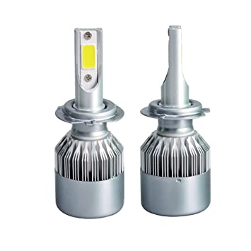 2pcs H7 LED Faro Bombillas, Zloer H7 LED Bombillas para Faros Delanteros Kit de Conversion