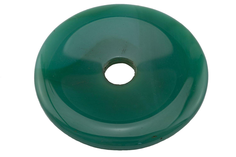 Donut-Anhänger Achat grün Ø 50 - 52mm 1001Kristall 030022