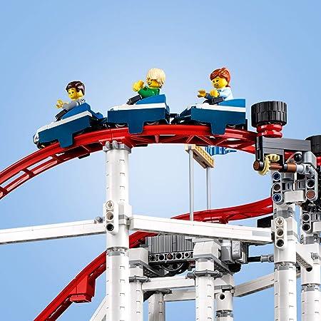 LEGO Creator Expert - Montaña rusa, emocionante juguete de construcción de atracción de feria (10261): Amazon.es: Juguetes y juegos