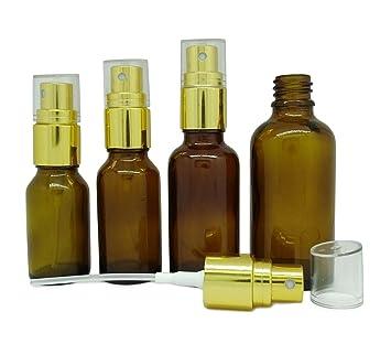 59c84550573d 30 ml Refillable Perfume Atomizer Spray Bottles Empty Amber Glass ...