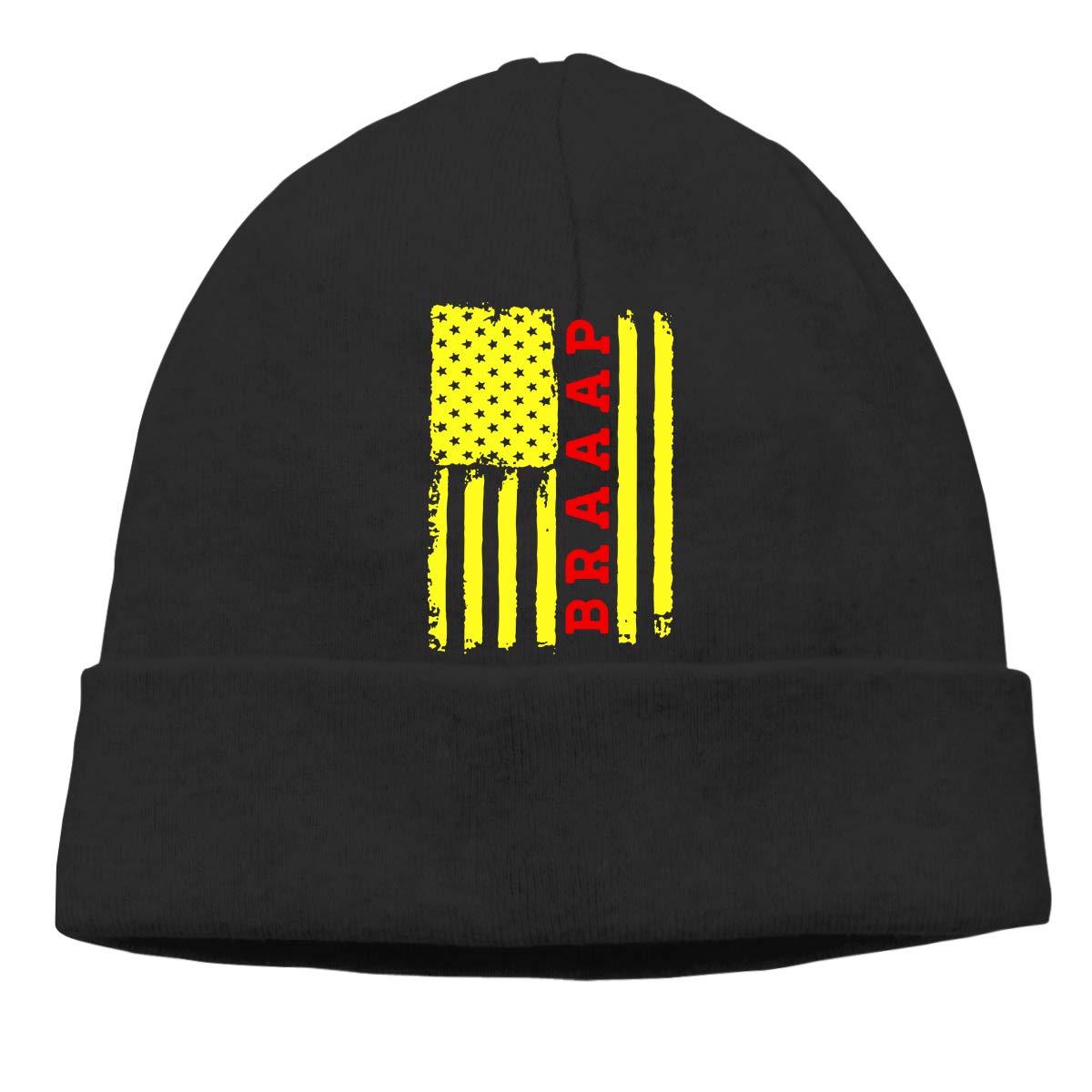 GDSG5/&4 Braaap Flag Motocross Men Women Daily Slouchy Cycling Beanie Hats