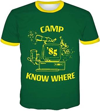 Camiseta Stranger Things Hombre, Camiseta Stranger Things 3 ...