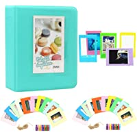 Cpano Colorful Bundle Set Accessories for Fujifilm Instax Mini Camera, HP Sprocket, Polaroid Zip, Snap, Snap Touch Printer Films with Film Stickers, Album & Frame