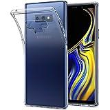 【Spigen】 スマホケース Galaxy Note9 ケース [ SC-01L SCV40 ] 対応 TPU 全面クリア 薄型 シンプル 軽量 リキッド・クリスタル 599CS24569 (クリスタル・クリア)