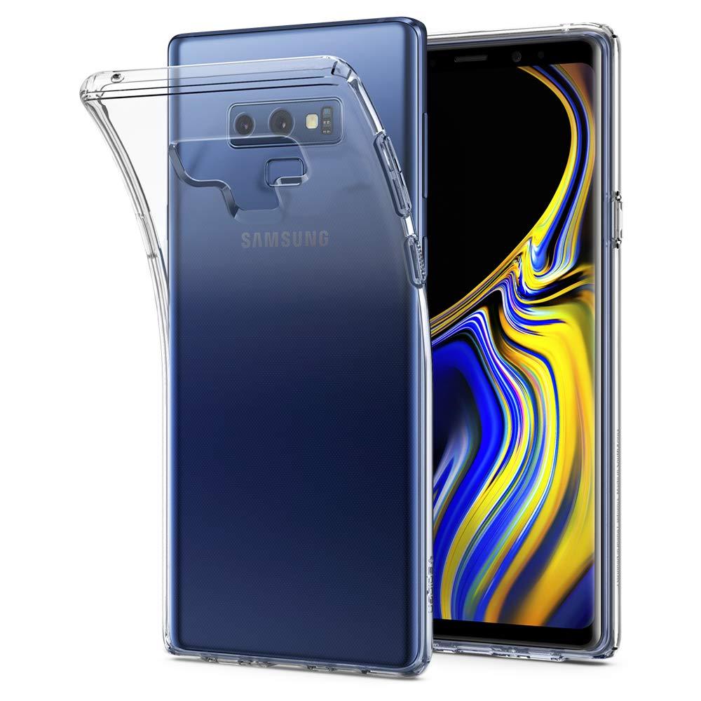 Funda Spigen Samsung Note 9 [Crystal Clear] Liquid Crystal