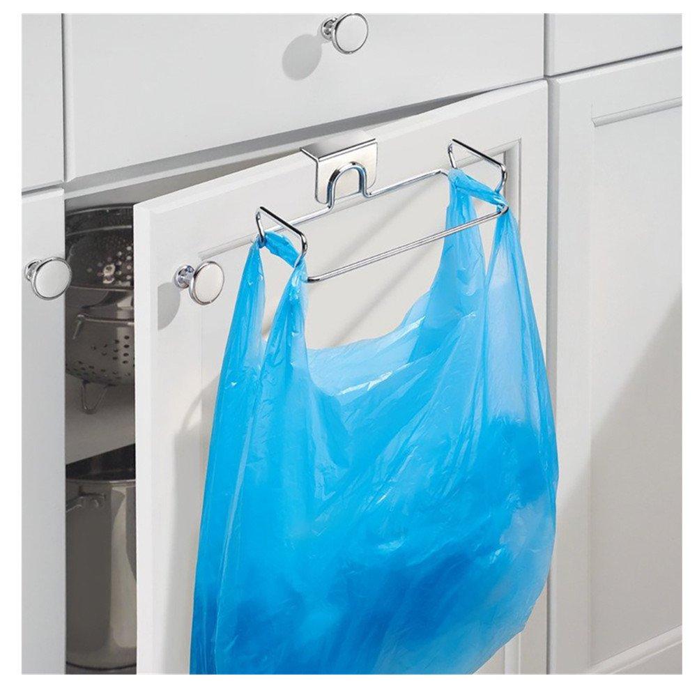 TRIXES Porta-Bolsas Basura/Contenedor Basura para Cocina Hogar - Fácil Instalación - Economía de Espacio