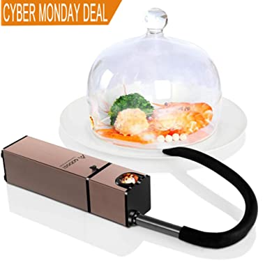 Aobosi Portable Infusion Smoker Smoking Gun to Enhance Taste for Food,Drinks,Cheese|Compact Food Smoker for Home and Outdoor Gatherings(BBQ,Picnic,Hiking,Fishing)|Battery Operated