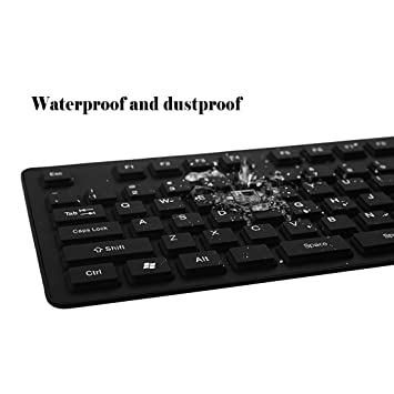 IYUTtech Portátil con cable USB Flexible plegable teclado de silicona suave impermeable Roll up 107 claves