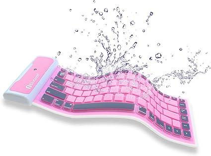 Tempo Portable Waterproof Keyboard Foldable Wireless Bluetooth ...