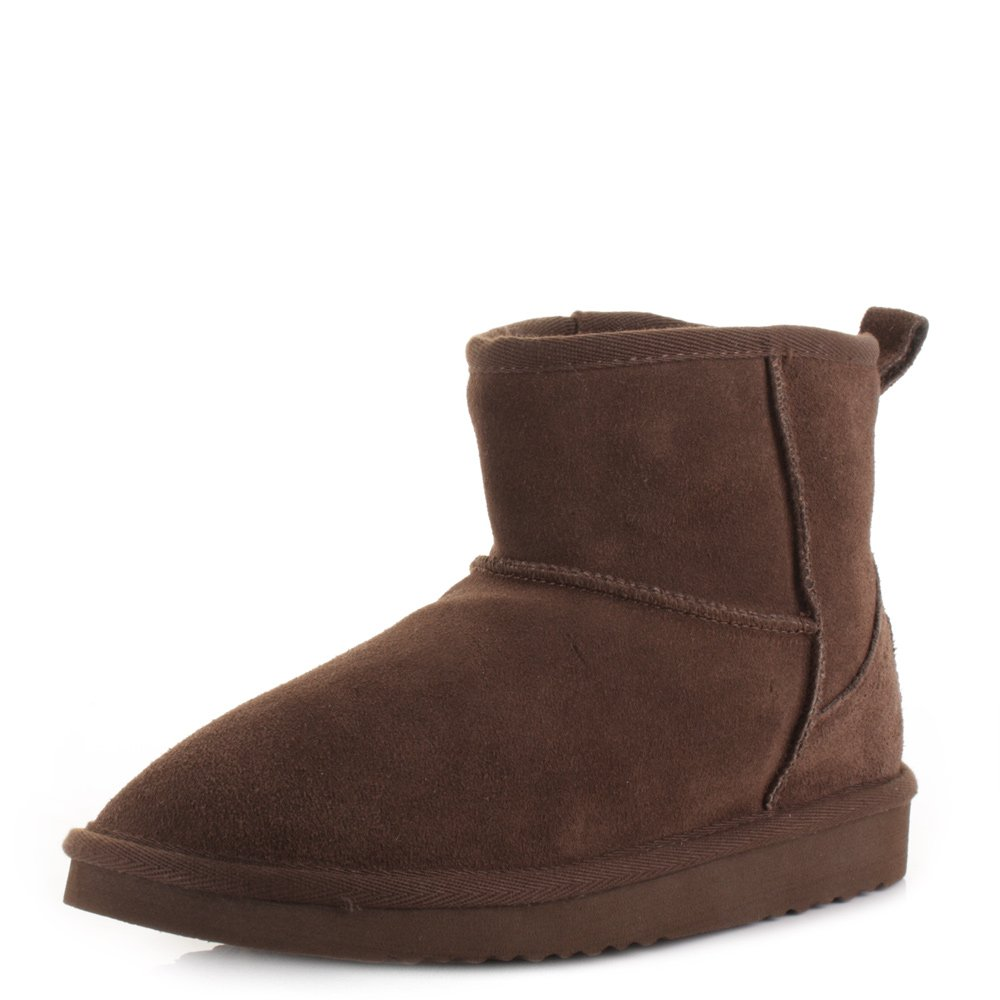 Dude Sella Ladies Ankle Stiefel Coffee