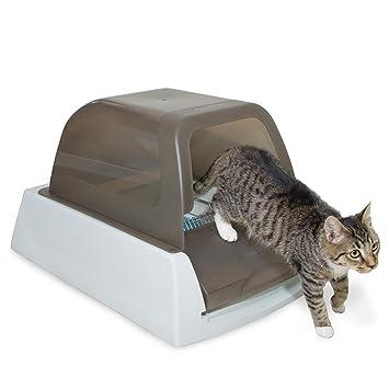 Petsafe scoopfree Ultra autolimpieza Cat Litter Box, Cubiertos, automático con Desechables Bandeja, 2 Opciones de Color: Amazon.es: Productos para mascotas