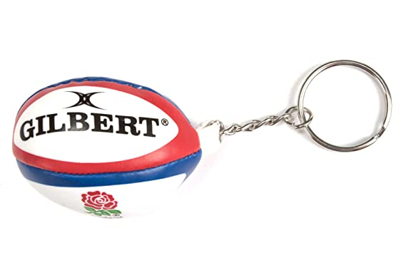 Image Unavailable. Image not available for. Colour  England Rugby Ball  Keyring ... 788f4c235